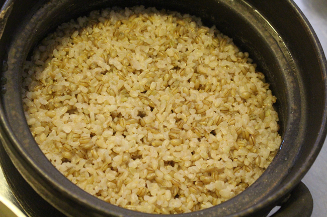 Whole Barley and Brown Rice