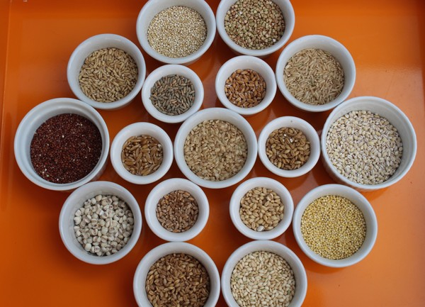 How many whole grains can you identify?