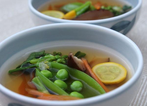 650 Clear soup