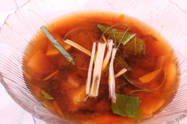 650 Miso soup
