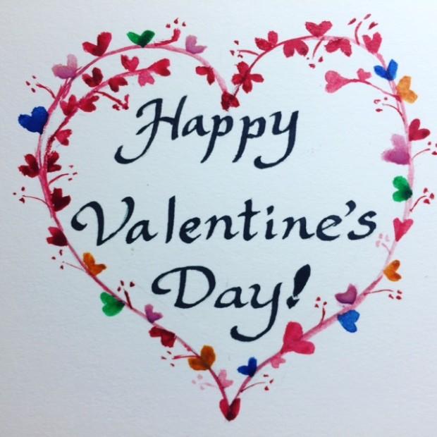 Valentine card 2018