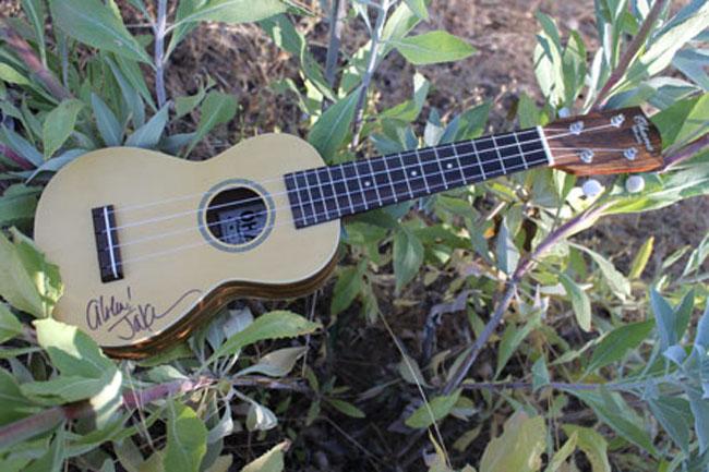 My first ukulele with Jake Shimabukuro autograph