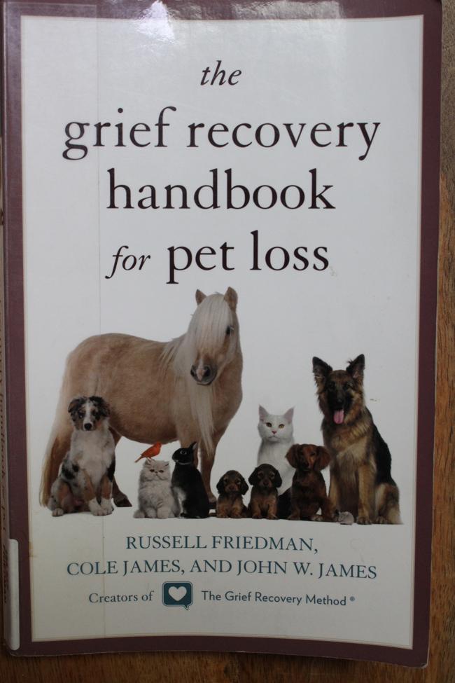 Grief book pets