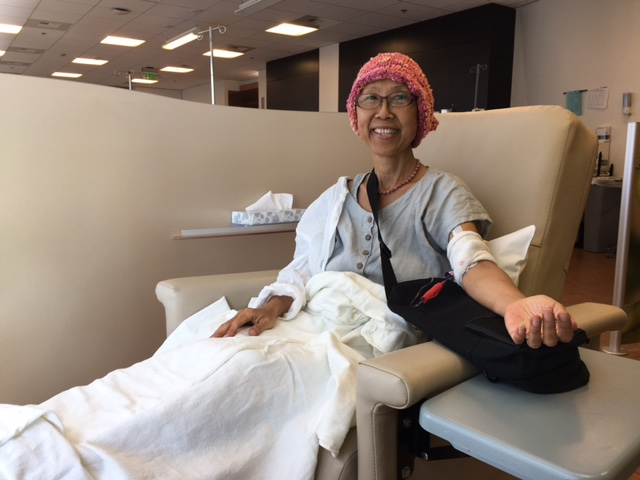 The round chemotherapy